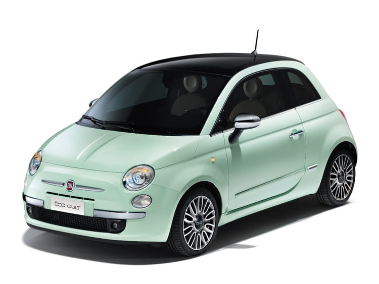 fiat 500 vert d 39 eau petite voiture. Black Bedroom Furniture Sets. Home Design Ideas