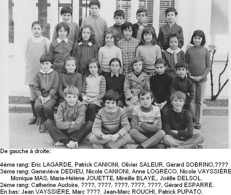 ÉCOLE DES CASTORS 2 (filles) 1972